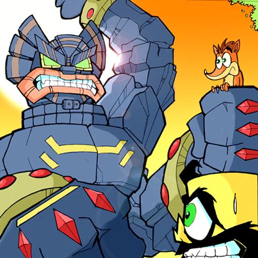 Crash Bandicoot Twinsanity Concept Art